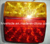 "Adr 4"" Square LED Tail Light for Truck Trailer"