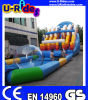 Portable Inflatable Water Park with Giant Pool and Slides