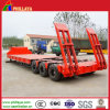 6 Axles in 3 Rows Heavy Duty Low Loader Trailer