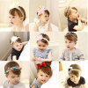 Wholesale Fashion Baby Hair Accessories Flower Hair Band Hair Ornaments Bowknot Headband