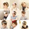 Wholesale Fashion Baby Hair Accessories Flower Hair Band Hair Ornaments Bowknot Headband