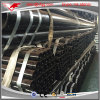 GB/T 3091 Black Welded Carbon ERW Steel Pipe with Grooved Both Ends for Water Supply