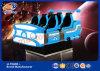 Arcade Game Machine 360 Degree Helmet 6 Seats 9d Vr Cinema