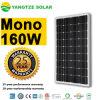 Monocrystalline 150W 160W 170W PV Solar Panel Types