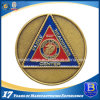 Military Challenge Metal Coin with Soft Enamel
