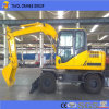 Mini Wheel Excavator for Sugarcane Market
