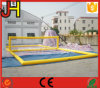 Inflatable Aqua Volleyball Court Inflatable Water Volleyball Field