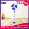 16 Inch Cross Base Stand Fan with LED Light (FS-40-S002)