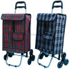 Portable Large Folding 2 Wheel Shopping Luggage Bag Smart Cart