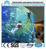 Transparent Round Acrylic Aquarium Restaurant Project