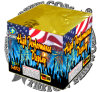 2 Inch Cake High Performance Display 100 Shots Cake Fireworks Pyrotechnics