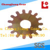 Spur Gear with Yellow Zinc