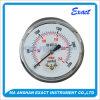 Capsule Manometer-Center Back Pressure Gauge-Black Steel Gauge