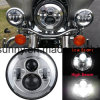 7′′ Round High Low Beam for Jeep Wrangle LED Headlight Without LED Ring