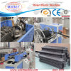 Single Screw Extruder Plastic Corrugation Pipe Extrusion Line