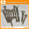 Fasteners Wood Screw Stainless Steel 410/304 DIN93/94/96 DIN571 Hex Head Wood Screw