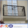 Customized Powder Coated Wrought Iron Balcony Balustrade with High Quality