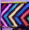 Flexible Display P18cm 2*3 M LED Video Curtain Light DJ Stage Show