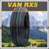 Commercial 195r14c 195r15c Steel Radial Car Tire Van Rx5