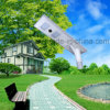 All-in-One Integrated LED Solar Street Garden Yard Light 40W