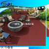 CE Certficated Residential Outdoor Floor Rubber Tile
