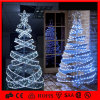 CE/RoHS Ornament Double Spiral LED Christms Tree Light