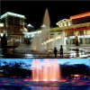 Square Jumping Jet Water Fountain with Colorful Lighting /Dry Fountain