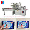 China Reciprocating Wet Wipe Packing Machine Labeling on The Top