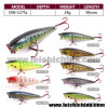 Popular Fishing Lure Hard Popper Lure