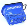Wheel Basket, Plastic Baskets ,Shopping Supermarket Basket (YDB01-05)