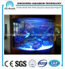 Customizable Cylindrical Aquarium