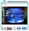 Customizable Cylindrical Aquarium