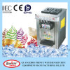 Three Flavor Stainless Steel Tabletop Soft Ice Cream Machinery