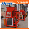 Hr2-10 Full Automatic Hydraulic Interlocking Brick for Four Pieces Brick Making Machine