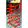 7 Tiers Floor Standing Crisps Rack Display (PHY336)