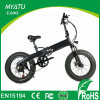 Hidden Battery Folding Electric Moped with Fat Tire Wheel