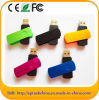 Hot Sale Swivel Custom Logo USB Flash Drive Pendrive for Promotion (ET101)