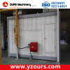 Propane Gas Fired Powder Coating Drying Oven with Riello Burner