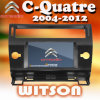 Witson Car DVD Radio GPS for Citroen C-Quatre (W2-D9956CI)