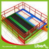 Small Square Customized Trampoline with Professional Trampoline Mats