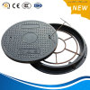 Bitumen Coating D-400 Ductile Iron BMC Manhole Cover