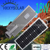Outdoor LED Solar Integrated Street Light 18W