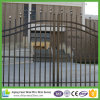 Decorative Black Powder Coated Steel Fence for Sale
