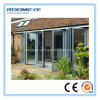Roomeye Double Glass Aluminium Folding Door for Patio/Veranda/Sunroom