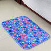 Coral Fleece  Printing Bath Mat