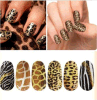 Leopard Tiger Snake Water Transfer Nail Art Stickers Nail Sticker