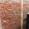 Polished China Rosso Levanto Red Marble Slabs for Floor Tiles and Countertop