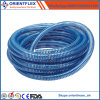3 Inch Flexible Blue Yellow PVC Hose Drainage Pipe