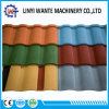 Corrugated Galvanized Steel Sheet Stone Coated Metal Roman Roof Tile