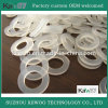 OEM Round Food Grade Clear Silicone Flat Waterproof Rubber Gasket